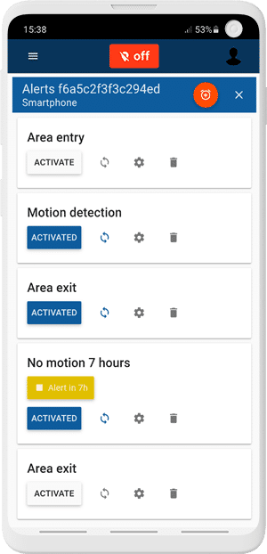 Create differents types of alerts