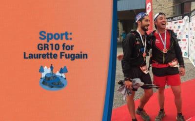 GR10 followed by Capturs for Laurette Fugain