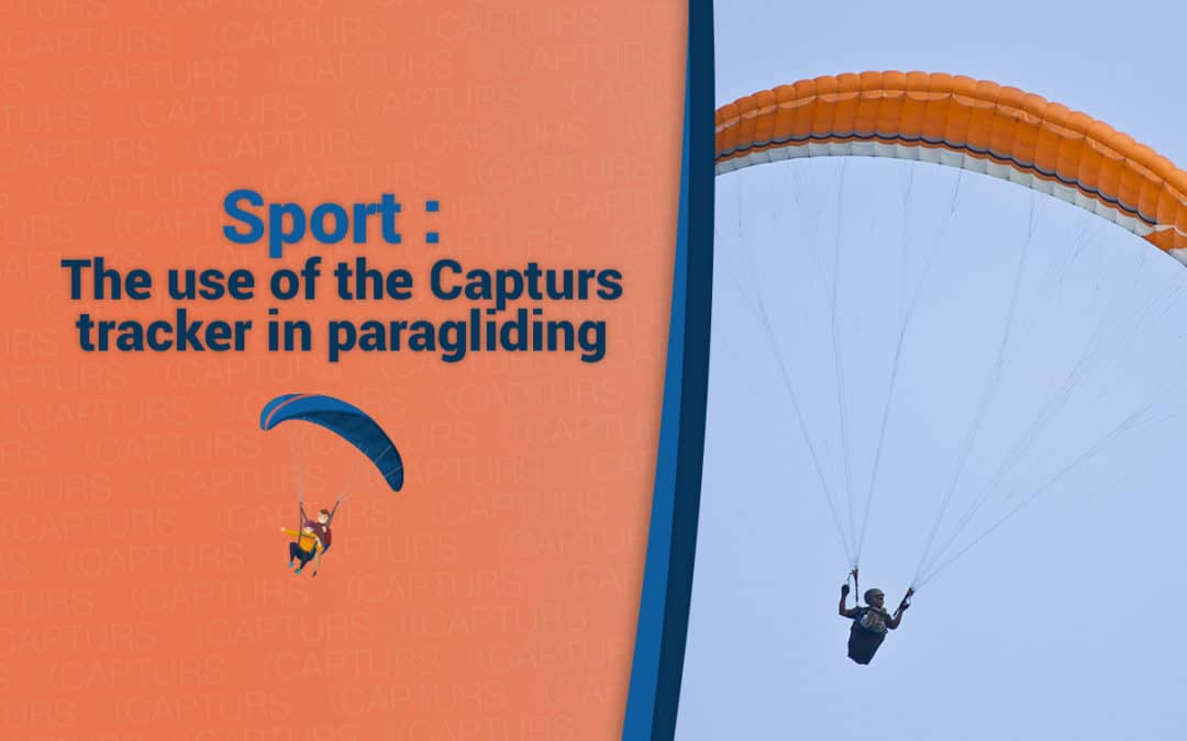 The use of the Capturs tracker in paragliding