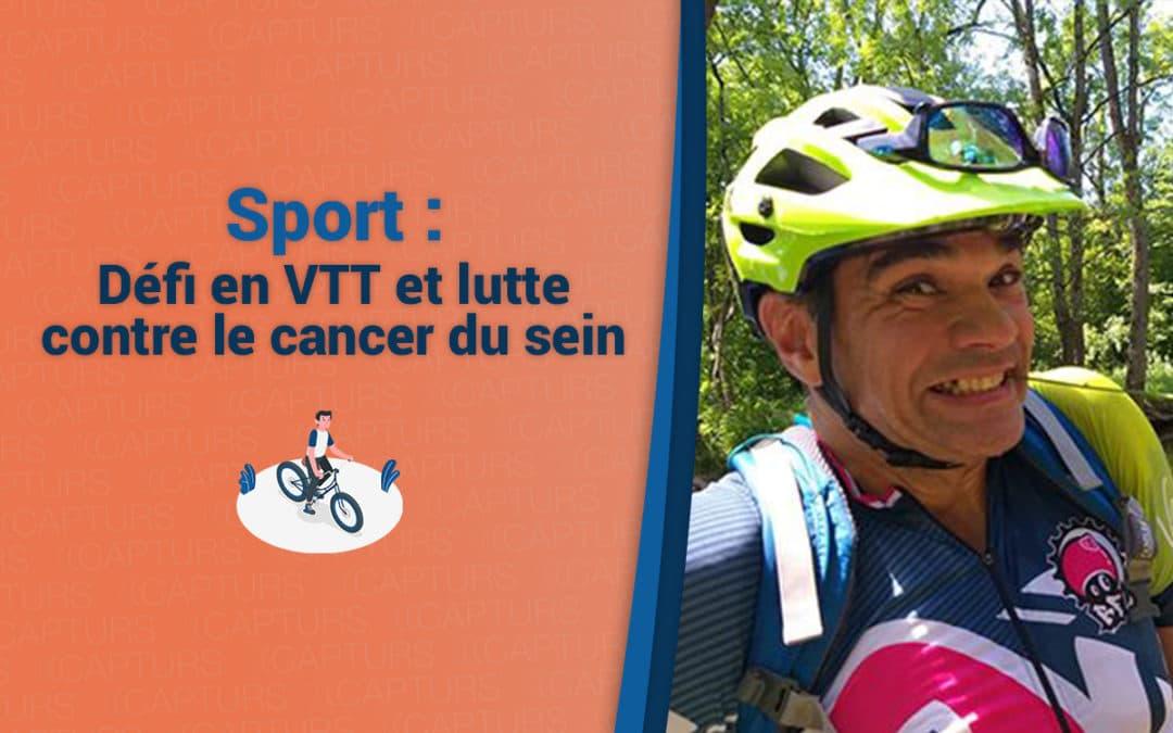 Défi en VTT et lutte contre le cancer du sein