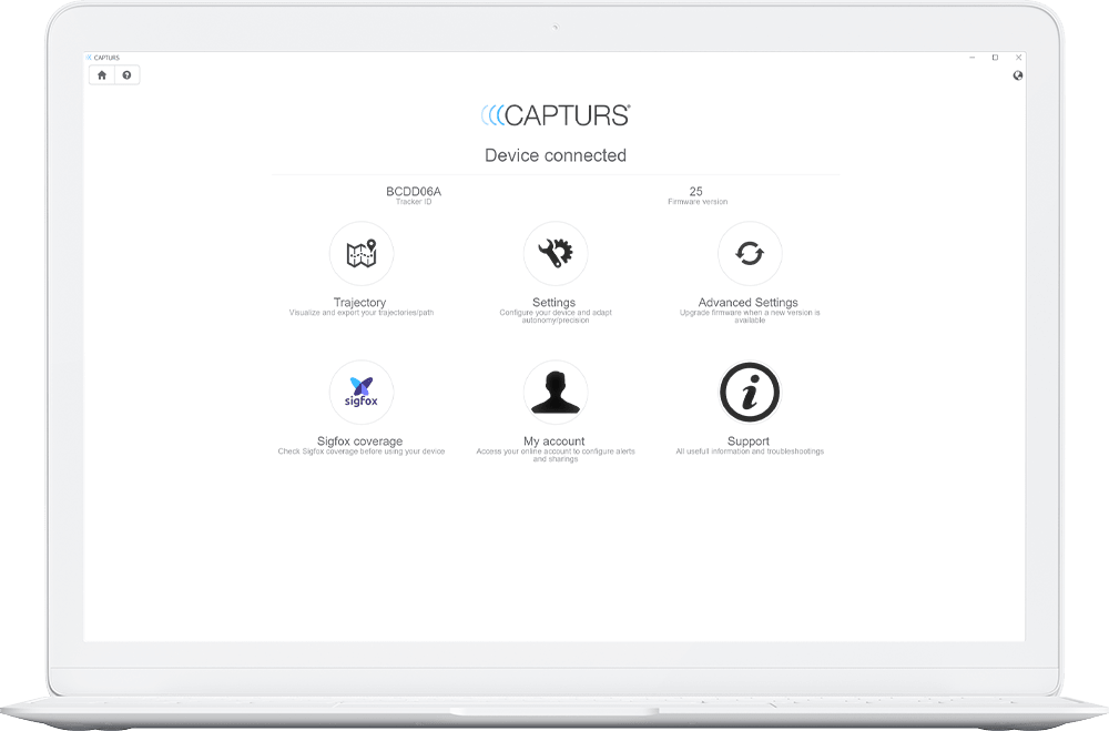 the capturs software