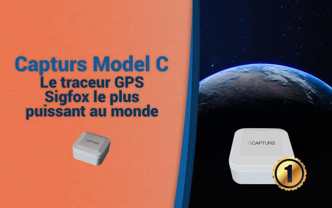 Capturs Model C est le tracker GPS Sigfox le plus puissant au monde