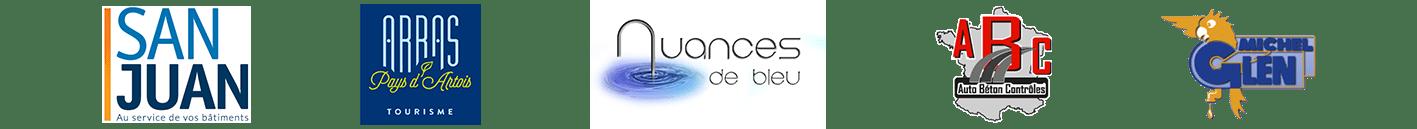 San Juan Arras Tourisme Nuances de Bleu Auto Béton Contrôles Michel Glen