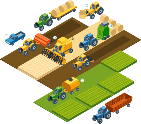 Traceur GPS agricole