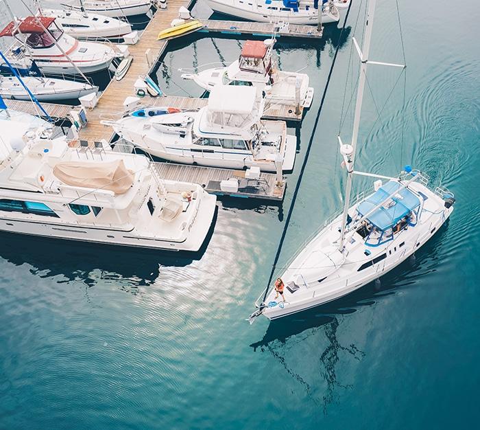 Traceur GPS Capturs pour parcs nautiques de location