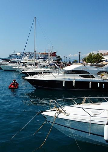 GPS tracker for boats