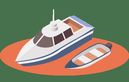 Placez le traceur gps sur votre bateau