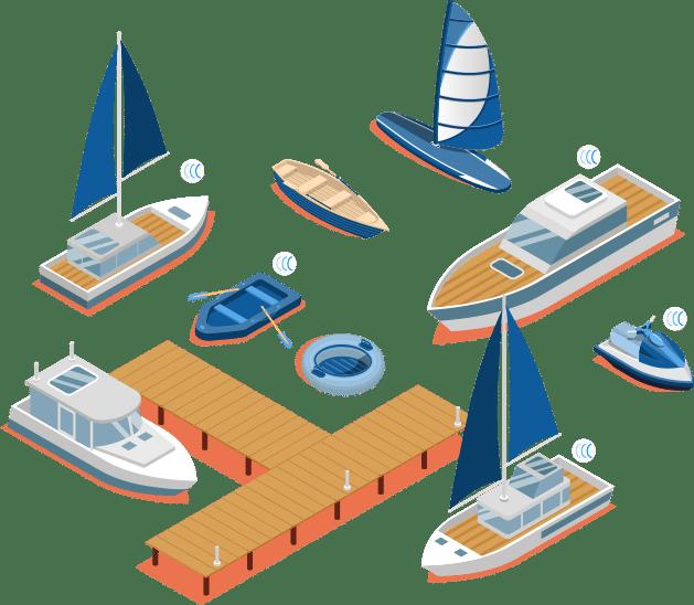 Traceur GPS pour suivre votre parc nautique