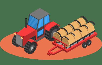 Placez le traceur gps dans vos matériels agricoles