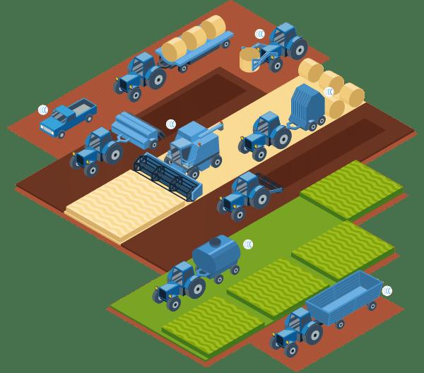 Traceur GPS Capturs pour l'agriculture