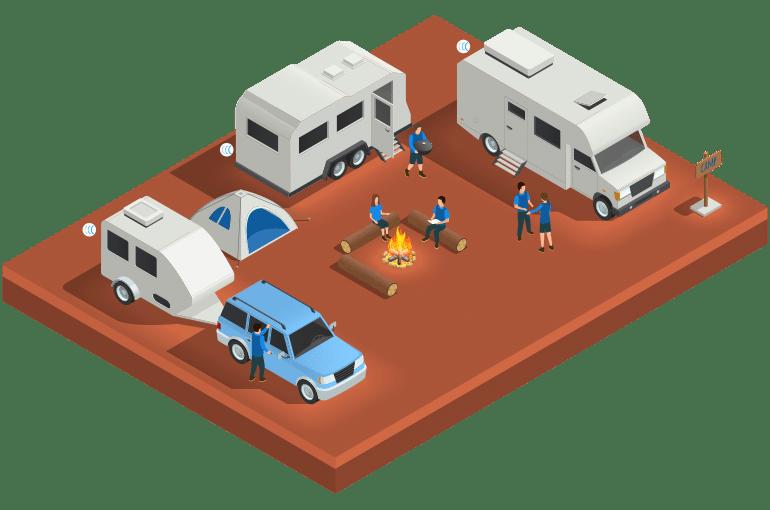 Traceur GPS Capturs pour les camping car