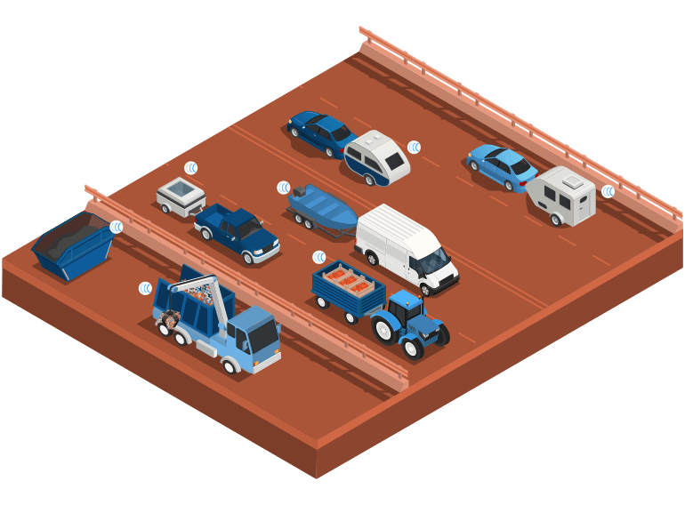 Capturs le traceur GPS adapté aux remorques et bennes