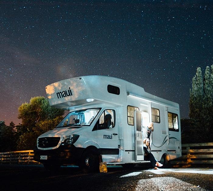 Traceur GPS pour camping car