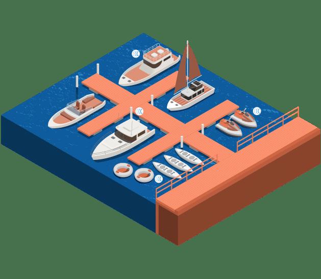 Traceur GPS pour les parcs nautiques